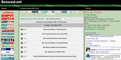BOSSCAST NET ver tv online