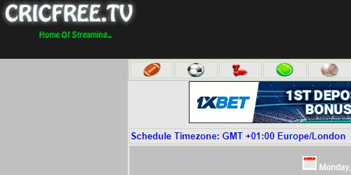 CRICFREE.TV resultados de futbol en directo