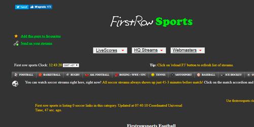 futbol gratis online firstrowsports