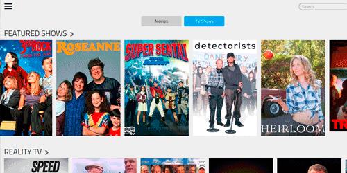 popcornflix para per peliculas y sertes de tv en linea gratis por streaming