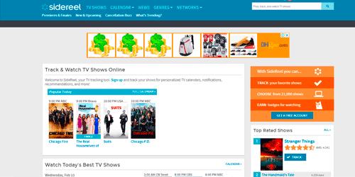 sidereel series tv online gratis
